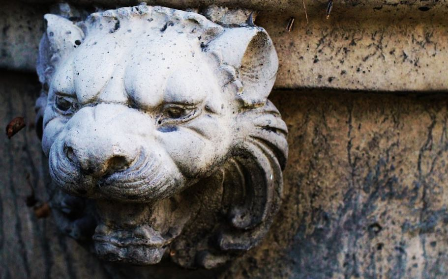 animal de piedra decoracion