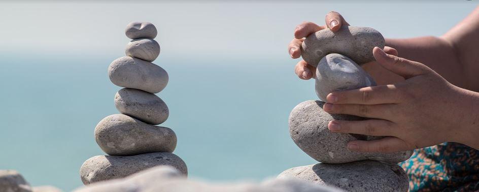 conjunto de piedras