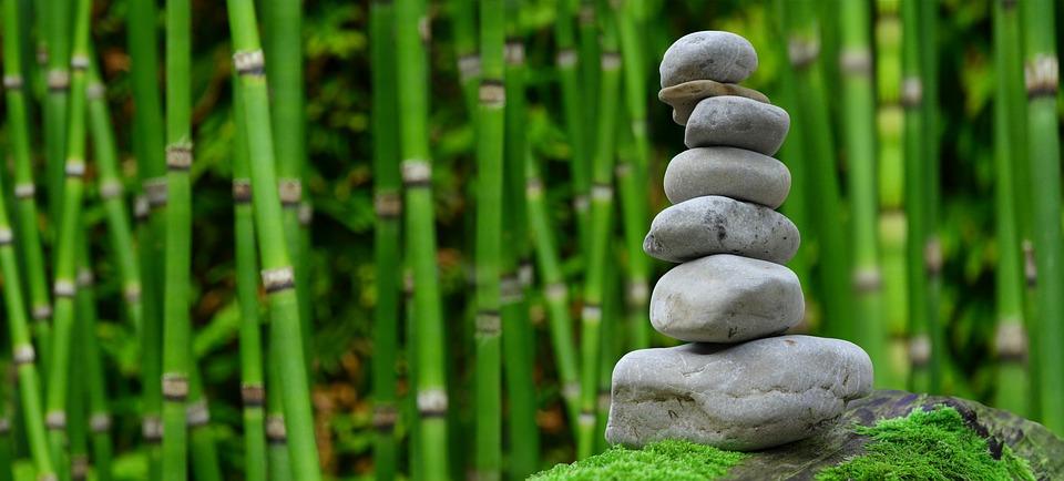 piedra verde jardin