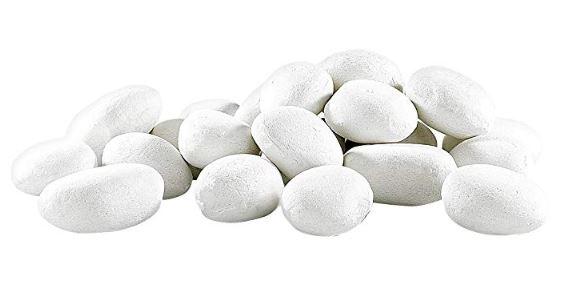 piedras blancas decorativas