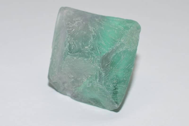 Piedra de fluorita pulida